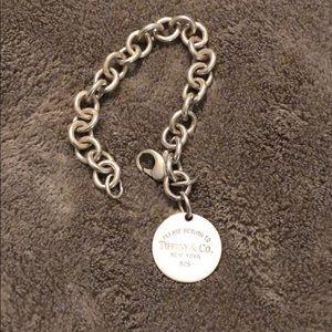 Return to Tiffany & Co. Round Tag Bracelet